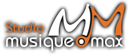 Orange and white Recording Studio logo